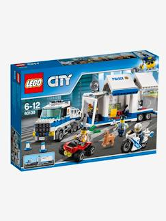 Jouet-Jeux de construction-60139 Le poste de commandement mobile Lego City