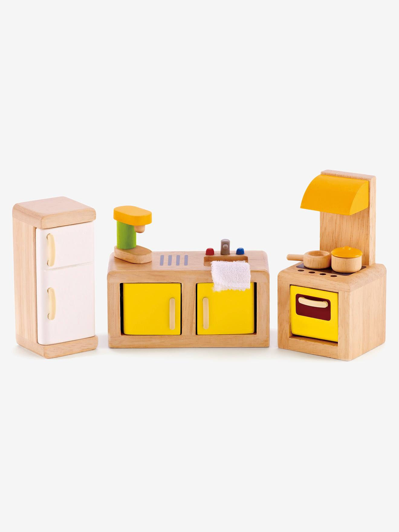 Puppenhaus Küchenmöbel Von HAPE Mehrfarbig