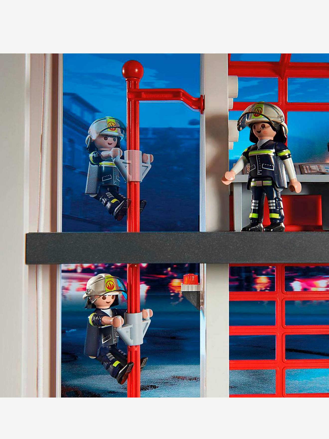 5361 Grosse Feuerwehr Zentrale Playmobil Mehrfarbig Spielzeug