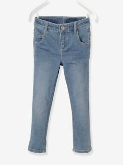 Fille-Pantacourt fille slim en denim tour de hanches MEDIUM morphologik