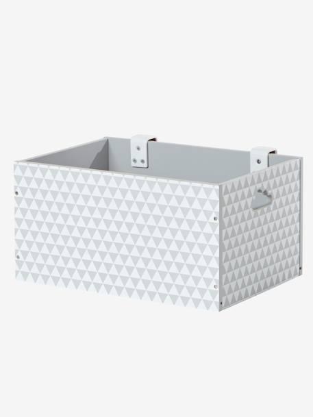 aufbewahrungsbox f r den wickeltisch m bel bettw sche. Black Bedroom Furniture Sets. Home Design Ideas