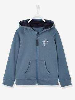 Fille-Sweat-Sweat fille zippé