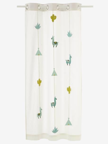 Vorhang Kaktus F R Kinderzimmer Deko Aufbewahren