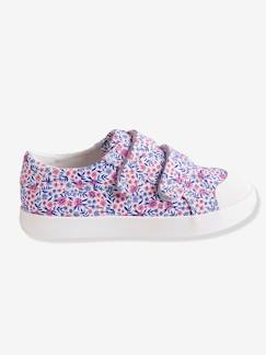 Chaussures-Chaussures fille 23-38-Baskets, tennis-Baskets scratchées fille en toile