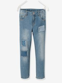 Pantalons-Jean boyfriend fille tour de hanches MEDIUM