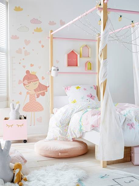 Betthimmel-Vorhang für Kinder, Deko & Aufbewahren