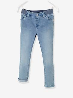 Pantalons-Jean slim fille tour de hanches MEDIUM Collection Maternelle