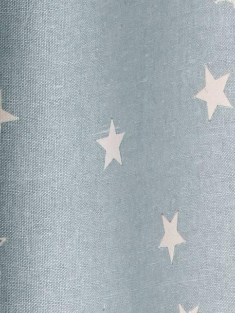 verdunkelungsvorhang mit sternen deko aufbewahren. Black Bedroom Furniture Sets. Home Design Ideas