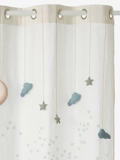 Vorhang f r baby und kinderzimmer kinderzimmer for Kinderzimmer vorhange sterne