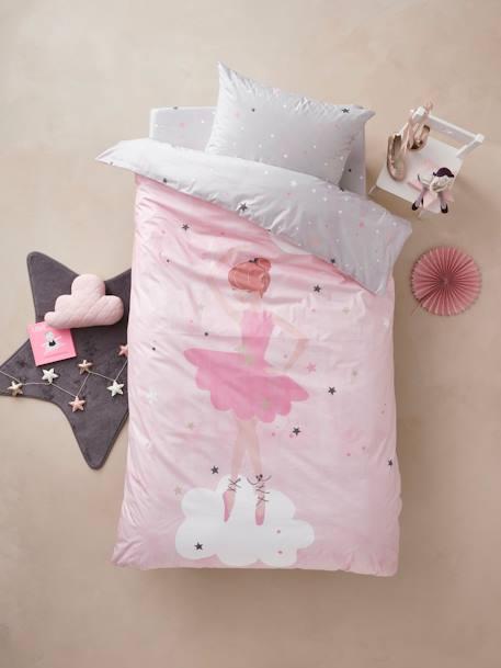 Kinder Bettwäsche Set Sternentänzerin Hellrosa Bedruckt Möbel