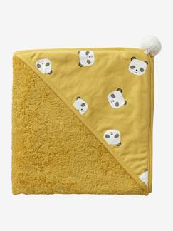 Nouvelle Collection-Meubles et linge de lit-Cape de bain Panda