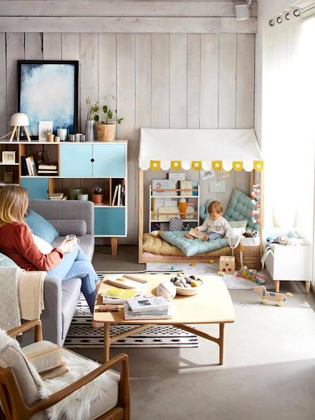Kinderzimmer Blau | Bodenmatratze Fur Kinderzimmer Blau Grun Deko Aufbewahren