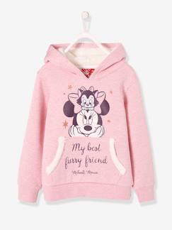 Hiver-Sweat fille Minnie® à capuche