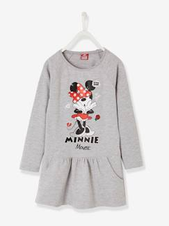 Fille-Robe-Robe imprimée Minnie® en molleton