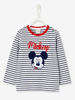 Hiver-T-shirt marinière Mickey® manches longues