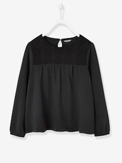 Fille-T-shirt, sous-pull-T-shirt manches longues