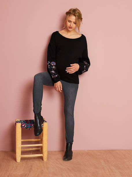 Slim-Fit-Umstandsjeans BLACK+Blue Stone+Dark Blue+Grau