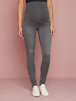 Winter-Sale bis zu -70%-Umstandsmode-Umstands-Treggings aus Stretch-Serge