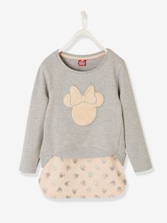 Fille-Jupe-Ensemble Minnie® fille sweat + jupe