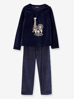 Nouvelle Collection-Fille-Pyjama velours fille