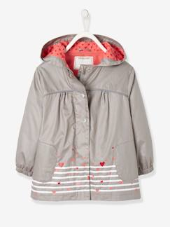 Fille-Manteau, veste-Parka fille doublée polaire Collection Maternelle