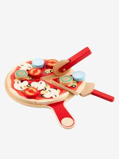 Nouvelle Collection-Jouet-Set pizza en bois