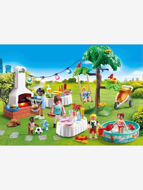 9272 Famille et barbecue estival Playmobil BLANC