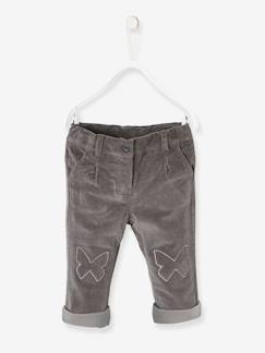 Baby-Hose, Jeans-Baby Mädchen Thermohose