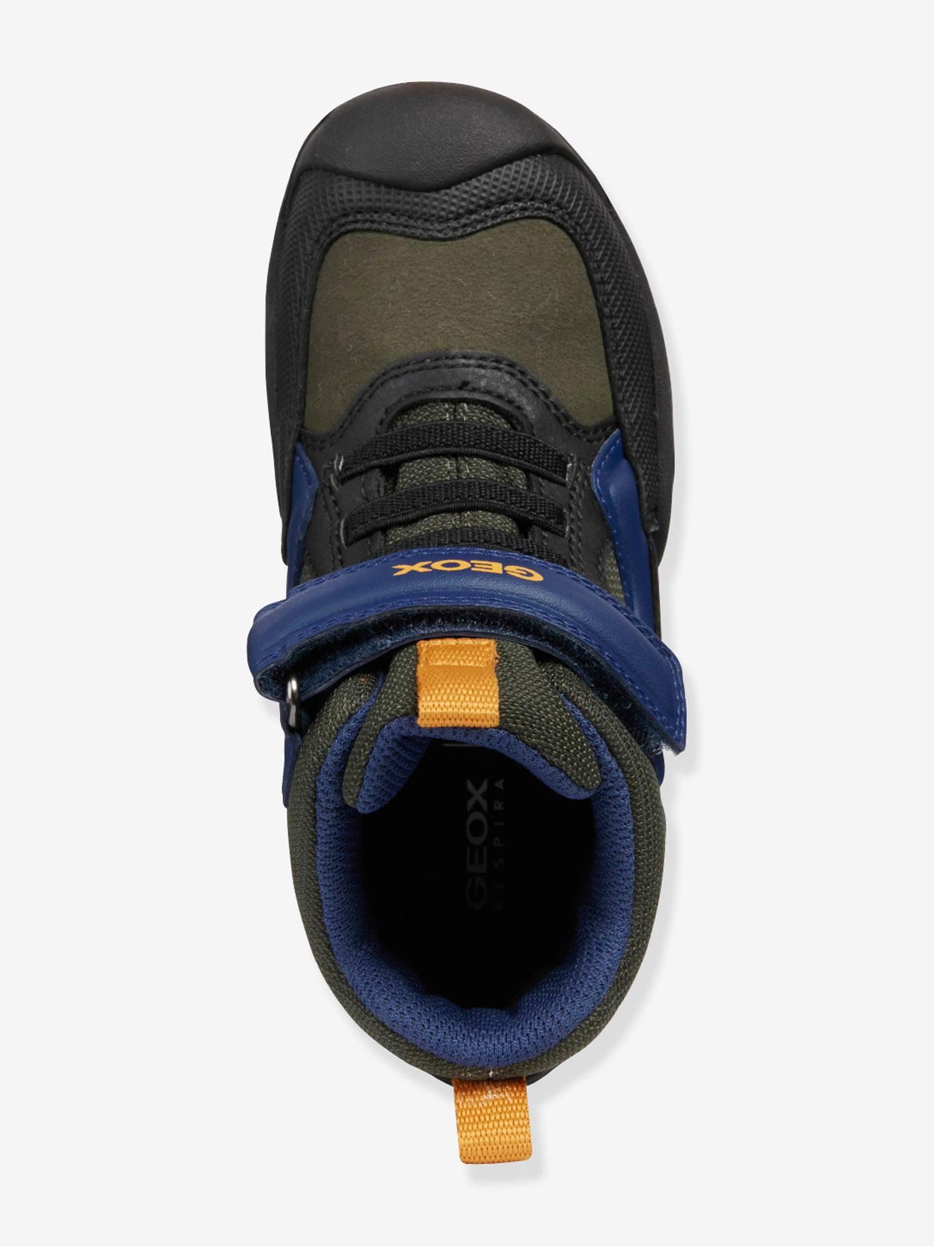 "Jungen Sneakers ""New Savage Boy High"" GEOX® marronmarine, Schuhe"