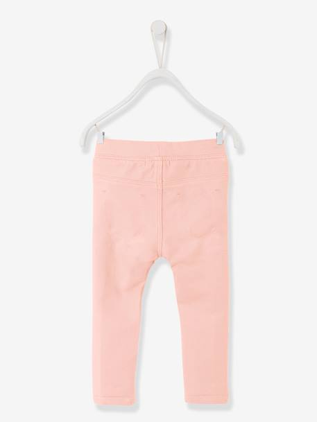 Tregging bébé fille Denim brut+Gris+Kaki+Rose clair