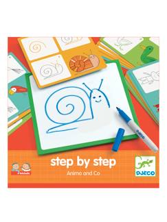 Hiver-Jouet-Step by step Animals DJECO