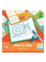 Step by step-Malset ,,Animals' von DJECO