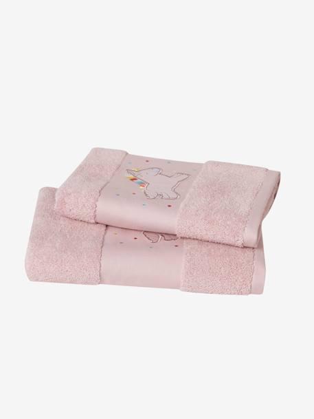 Handtuch Einhorn Für Kinder Rosa Möbel Bettwäsche