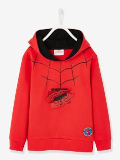 Garçon-Pull, gilet, sweat-Sweat-Sweat Spiderman® à capuche et badges amovibles