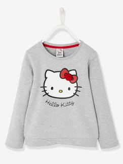 Fille-Pull, gilet, sweat-Sweat-Sweat Hello Kitty® imprimé base fantaisie