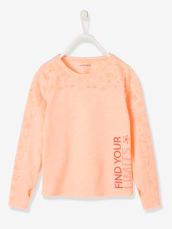 Fille-Collection sport-T-shirt sport fille manches longues