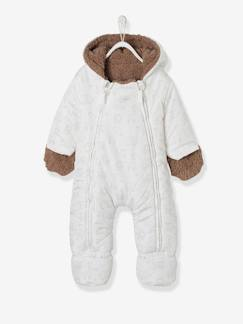Baby-Mantel, Overall, Ausfahrsack-Baby Winteroverall mit Kapuze