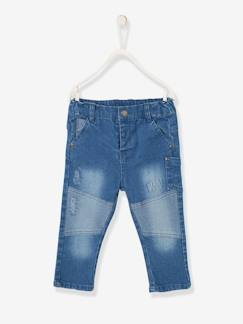 Baby-Hose, Jeans-Slim-Fit-Jeans, Destroyed-Look