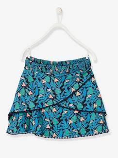 La nouvelle collection 2019-Fille-Jupe-short fille à pompons