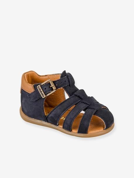5b60afbd4c2410 Sandales cuir bébé garçon Gimmy Babybotte® - marine, Chaussures