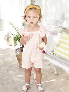La nouvelle collection 2019-Bébé-Combishort bébé fille