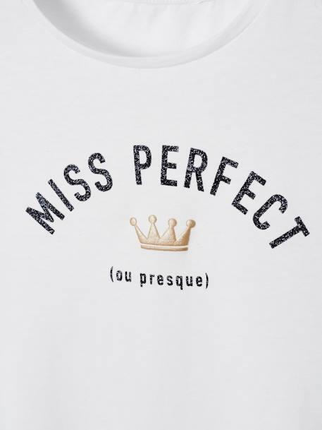 super popular 72cee b95e5 Mädchen T-Shirt, Message-Print - weiss, Mädchen