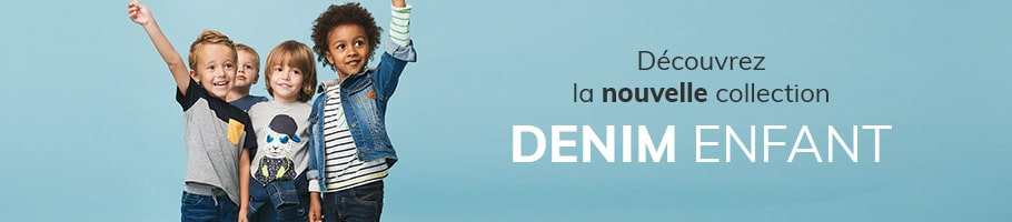 Nouvelle collection - Denim enfant