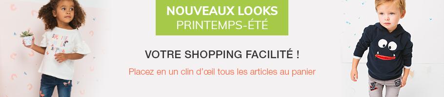 Nouveaux looks - Printemps-Été