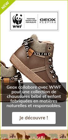 Geox collabore avec WWF pour une collection de chaussures