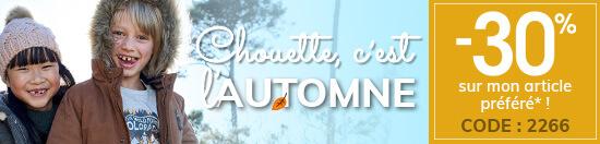 C'est l'automne ! -30% sur mon article préféré !
