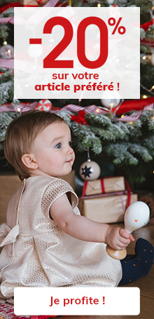 -20% sur votre article préféré !