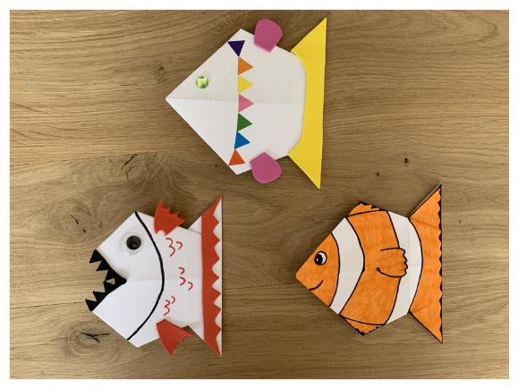 plier un origami