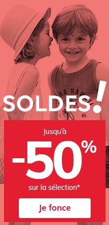 SOLDES ! jusqu'à -50% sur la sélection*
