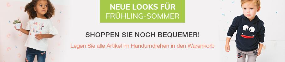 Neue Looks für - Frühling-Sommer